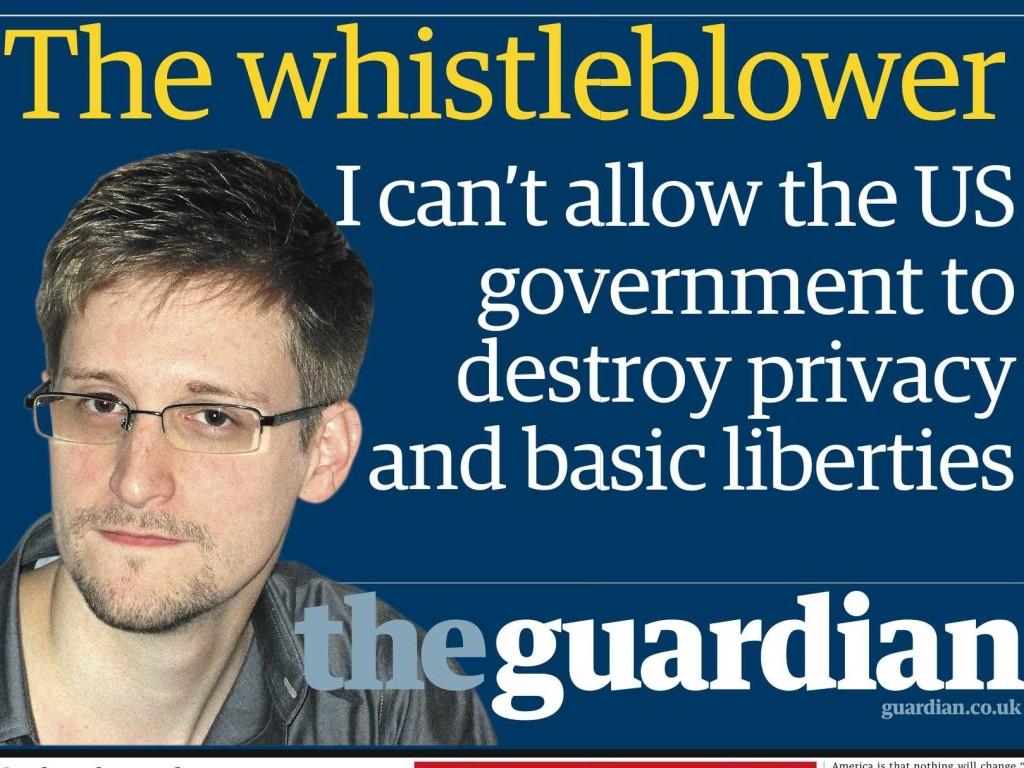 Moralische Bedenken haben Snowden zu seinem Verrat getrieben. Quelle: www.guardian.co.uk