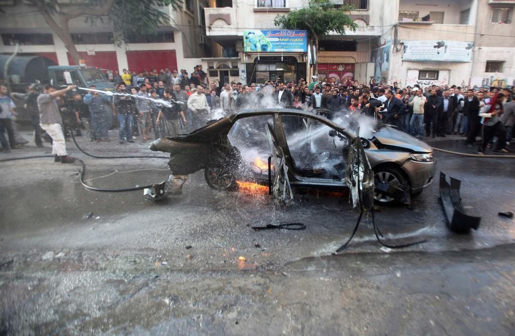 Konsequente Nutzung aller technischen und menschlichen Quellen: versuchte gezielte Tötung von Ahmad al-Jabri 2012 mit einer Drohne. © Reuters 2012