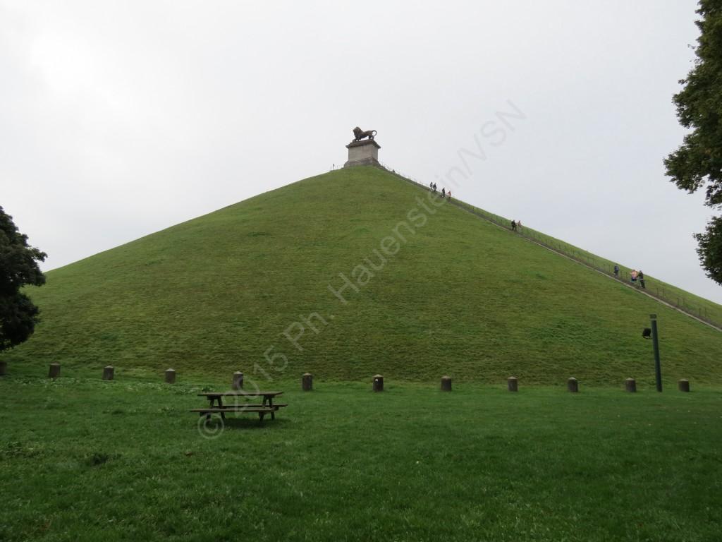 Der Aussichtshügel des Geländes von Waterloo. © P.H./VSN