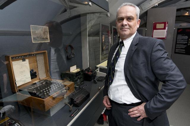 Jacques Baud, vielen unserer Leser als Experte und Initiator der grossartigen Ausstellung im Zeughaus in Morges bekannt. Quelle: Tribune de Genève